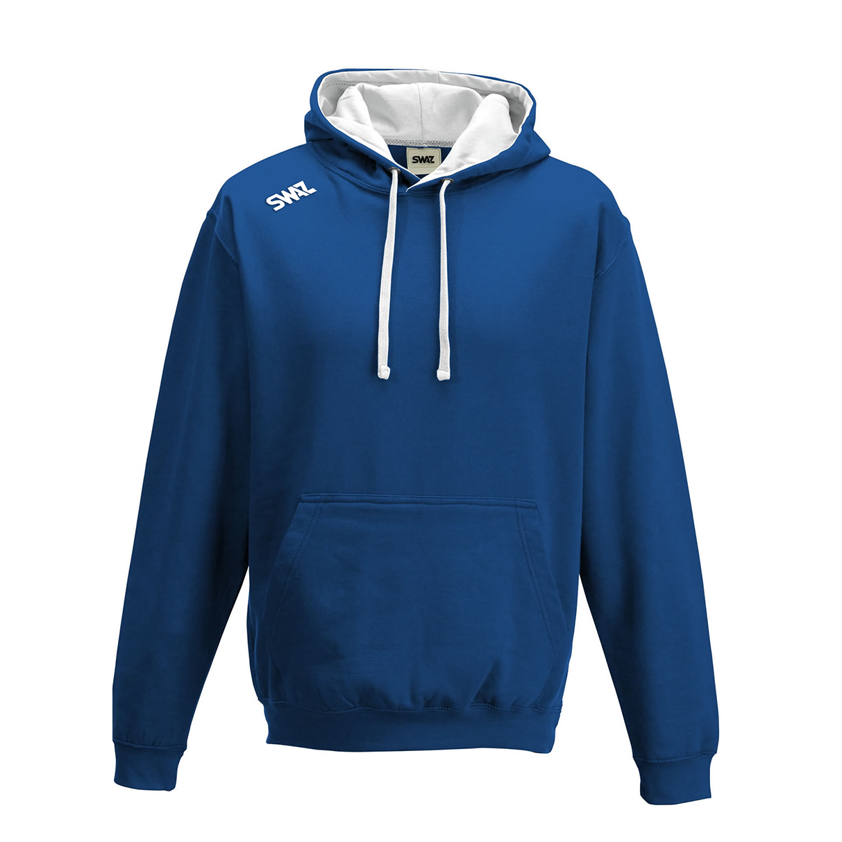 SWAZ Youth Club Hoody – Royal Blue/White