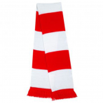 Scarf_White-Red