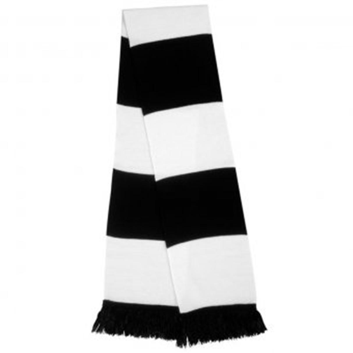 SWAZ Supporters Scarf – Black/White