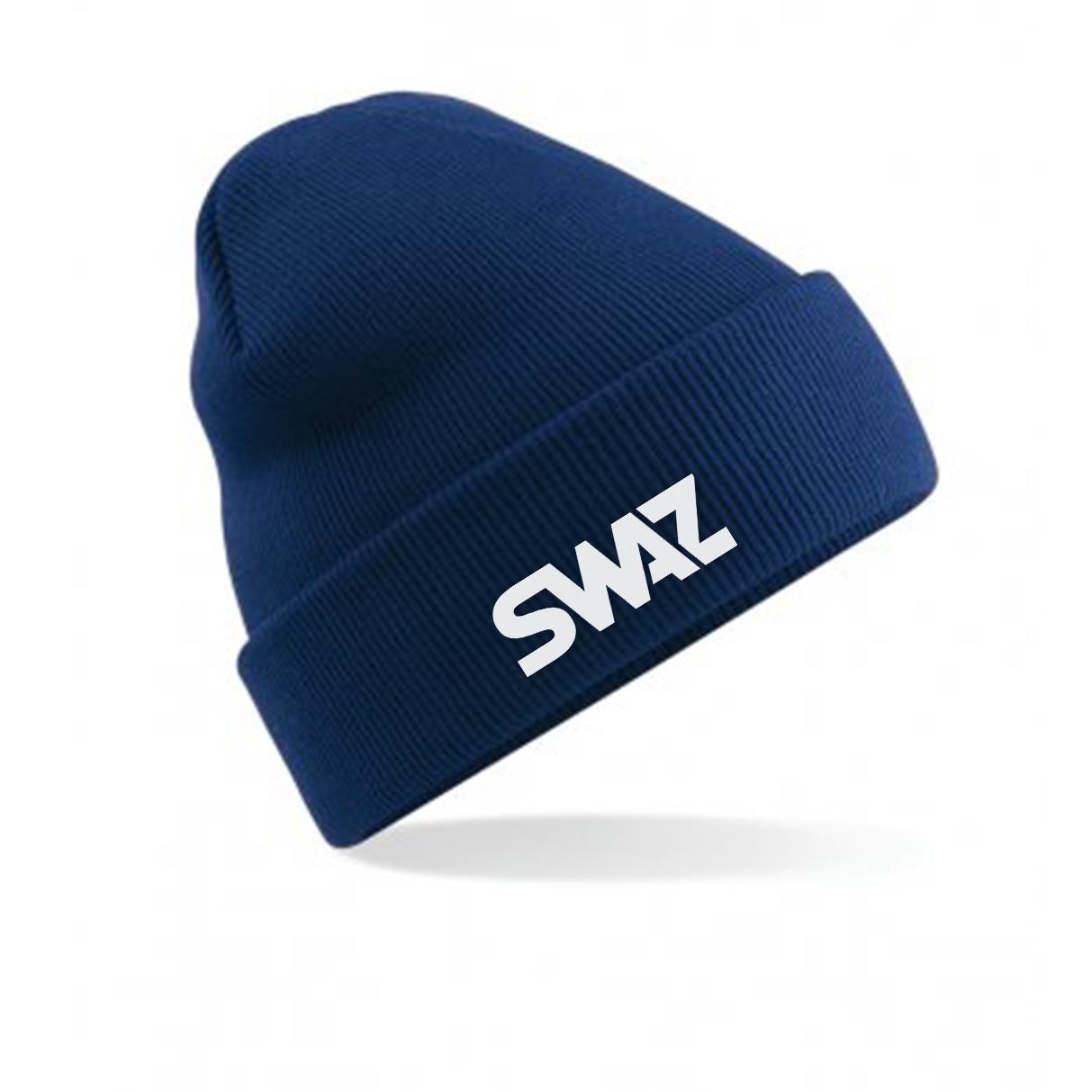 SWAZ Beanie Hat – Navy