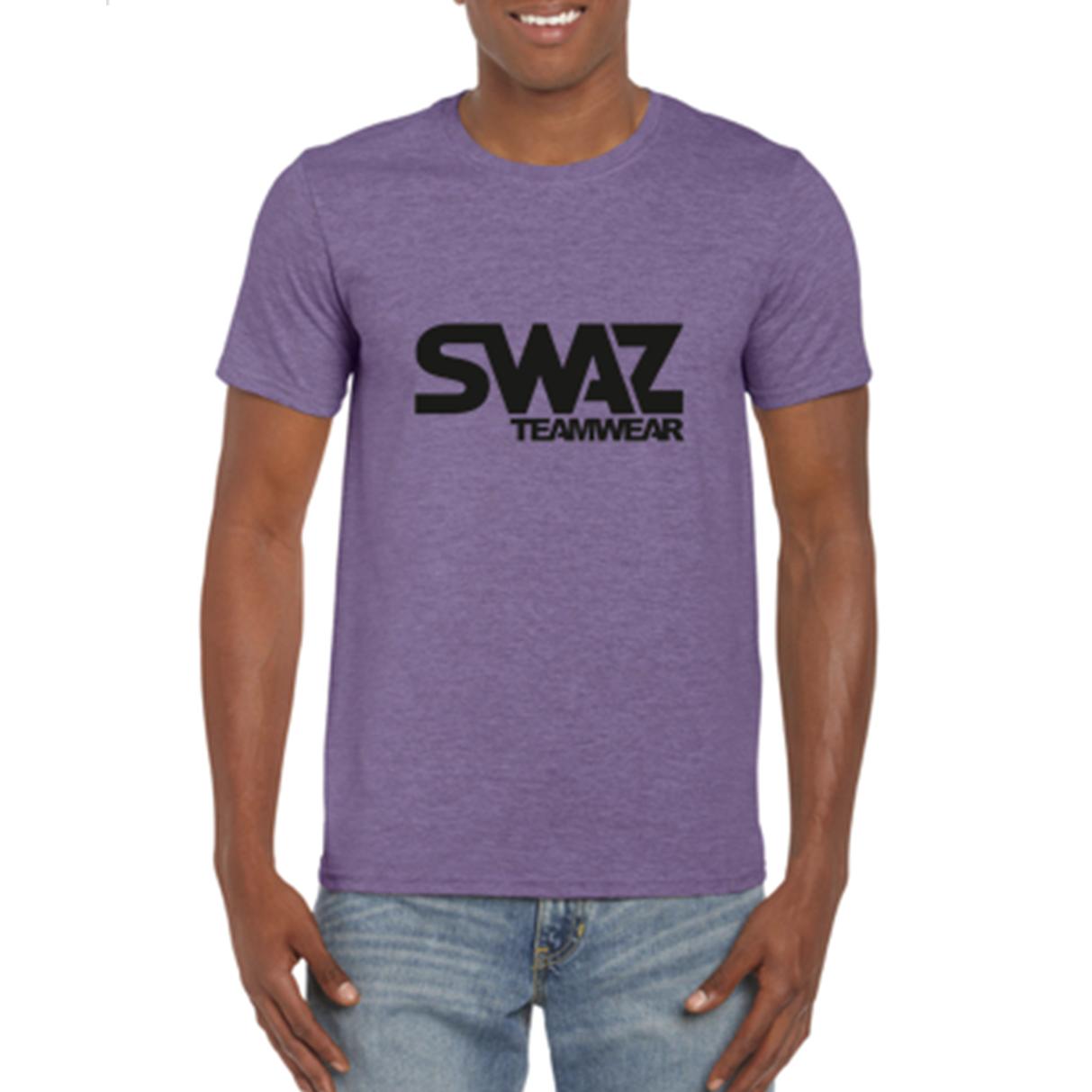 SWAZ Teamwear Heather Purple Classic T-Shirt