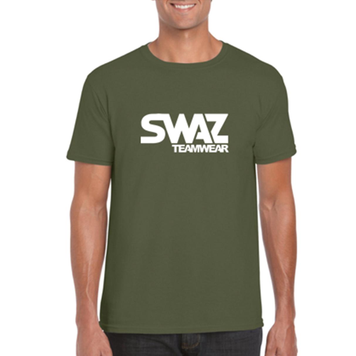 SWAZ Teamwear Military Green Classic T-Shirt