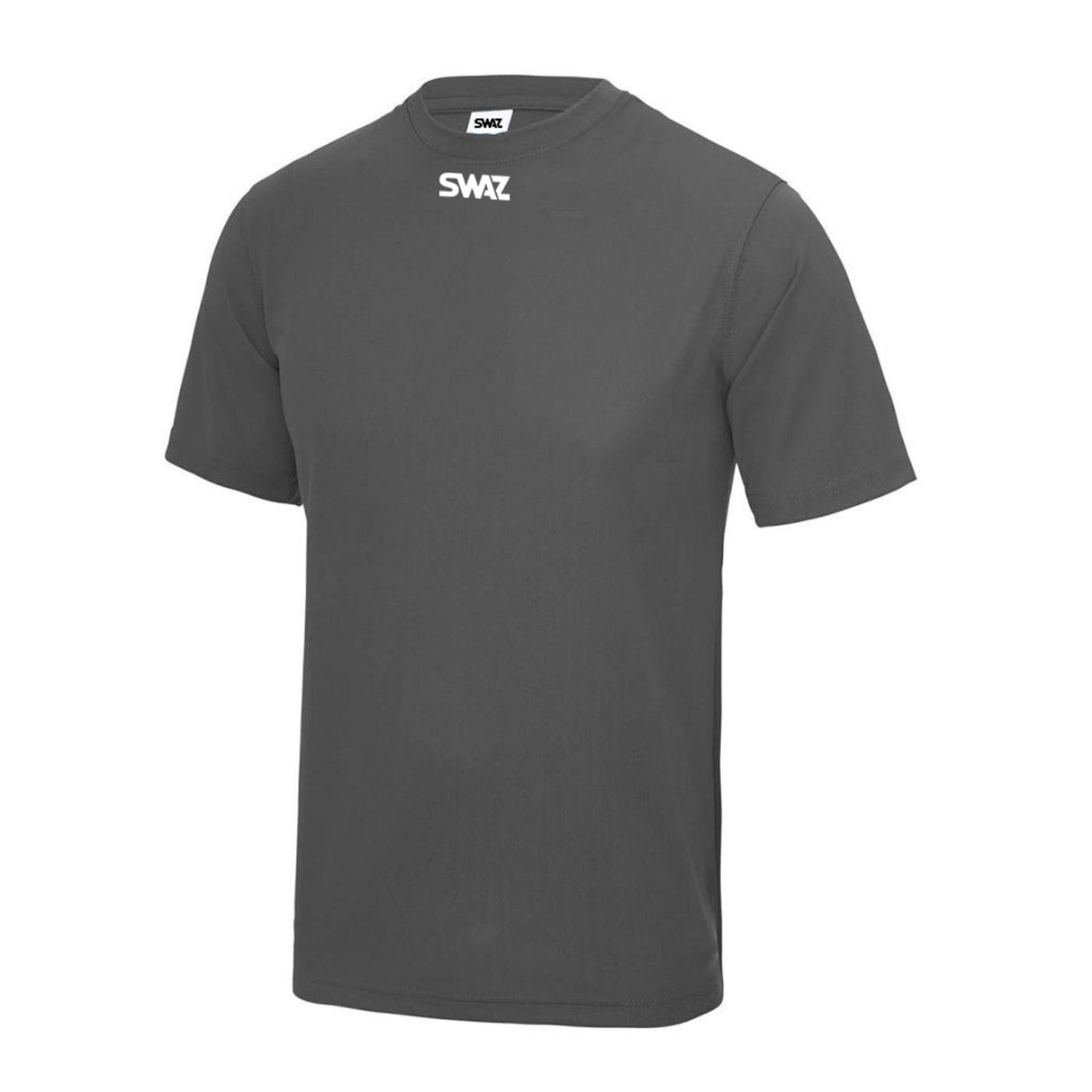 SWAZ Club Training T-Shirt – Charcoal