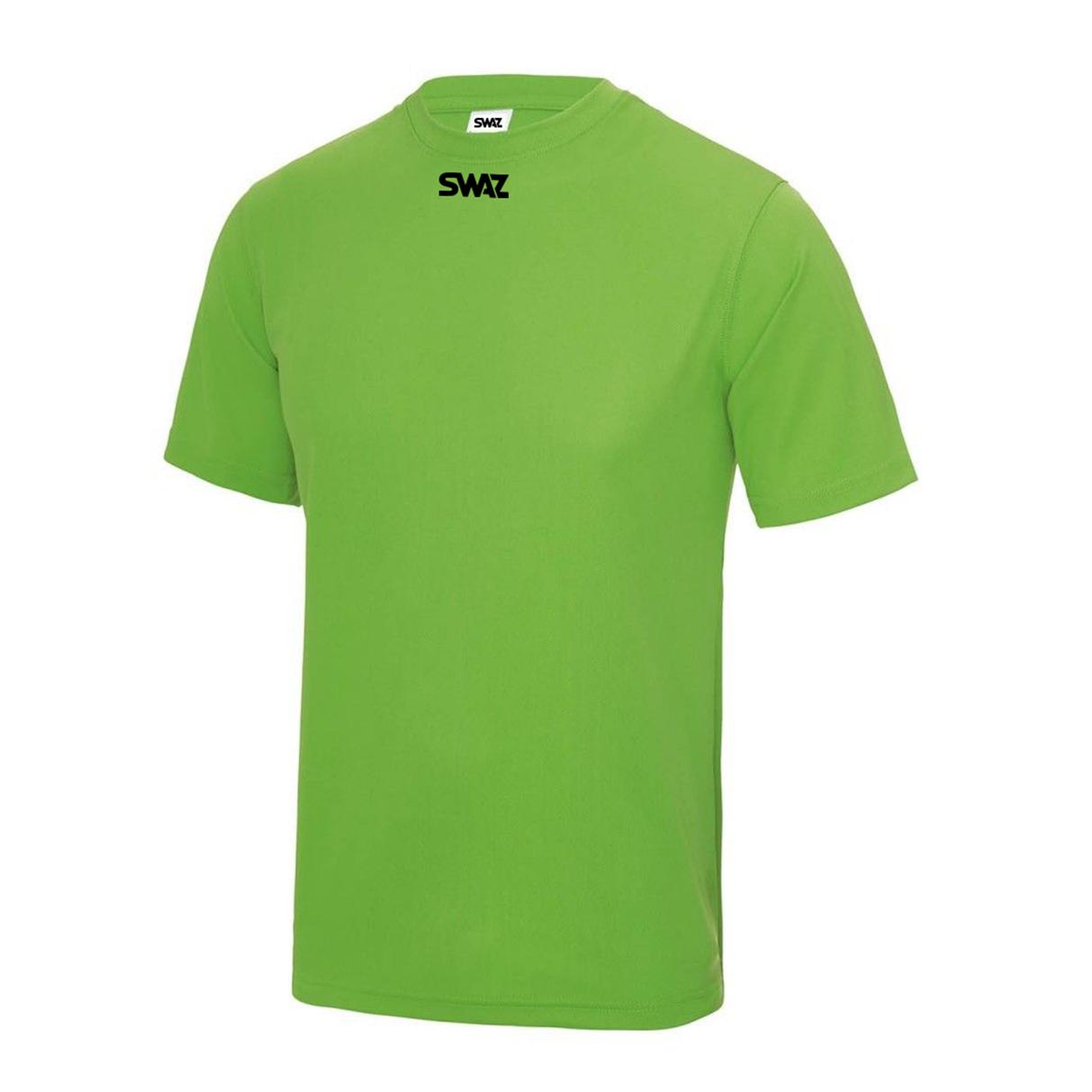 SWAZ Club Training T-Shirt – Lime