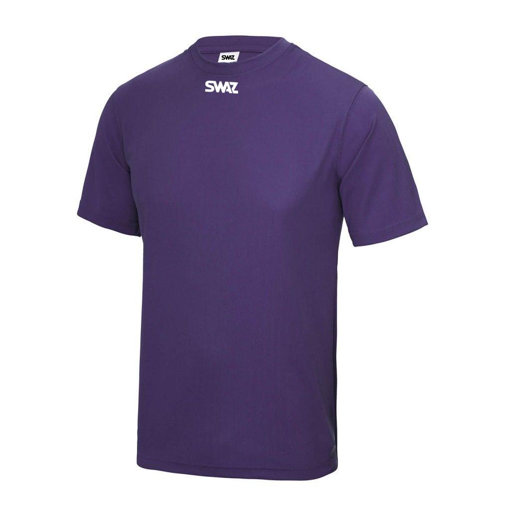 SWAZ Club Training T-Shirt – Purple