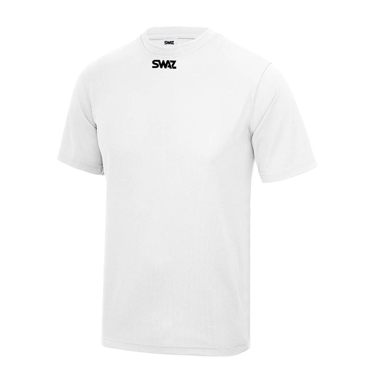 SWAZ Youth Club Training T-Shirt – White