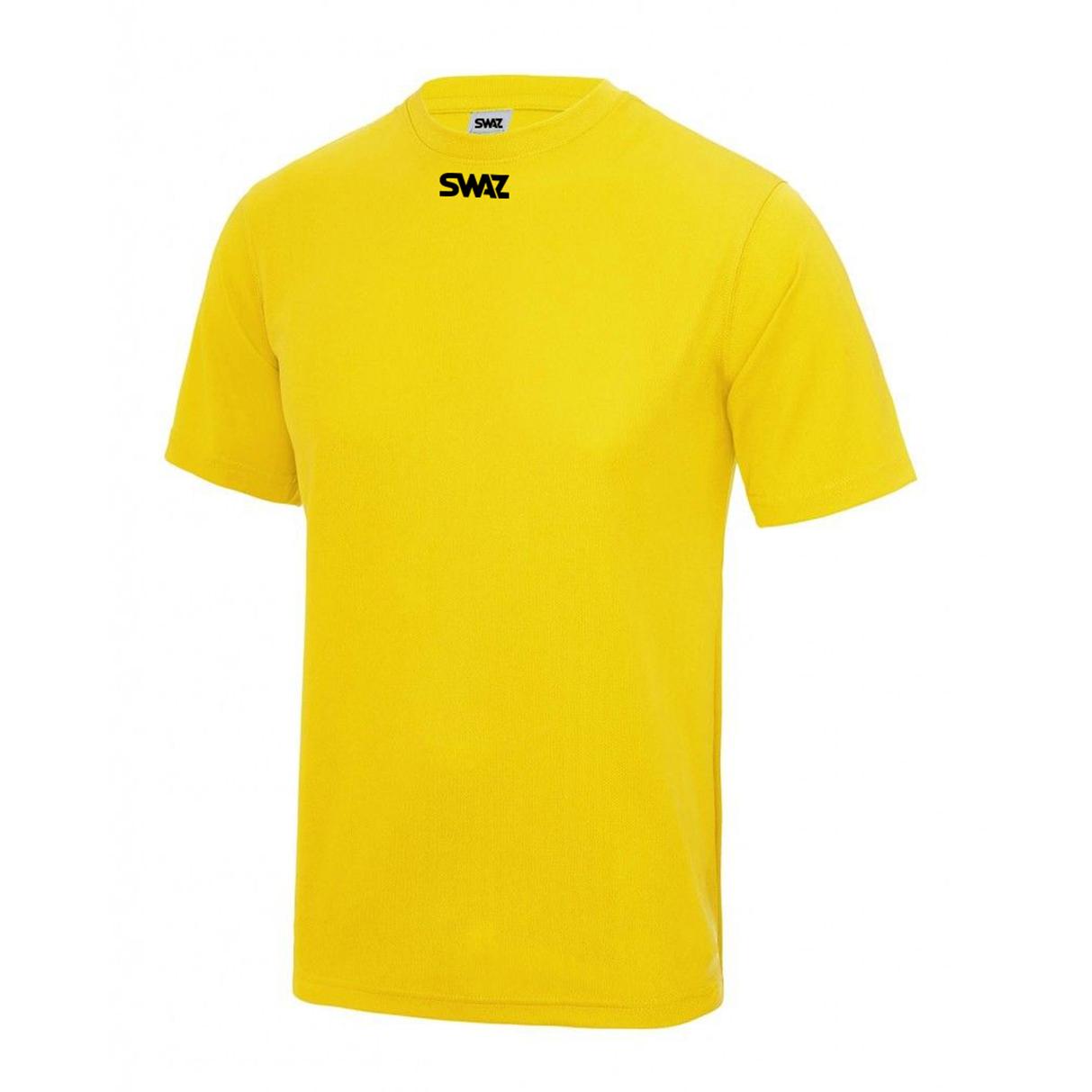 SWAZ Club Training T-Shirt – Yellow