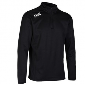 SWAZ Club Mens Mid Layer Jacket - Black