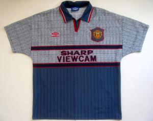 Manchester United Gray Football Kit