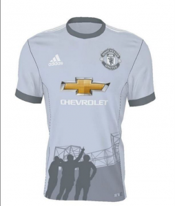 Manchester United Chevrolet Sponsored Football Kit
