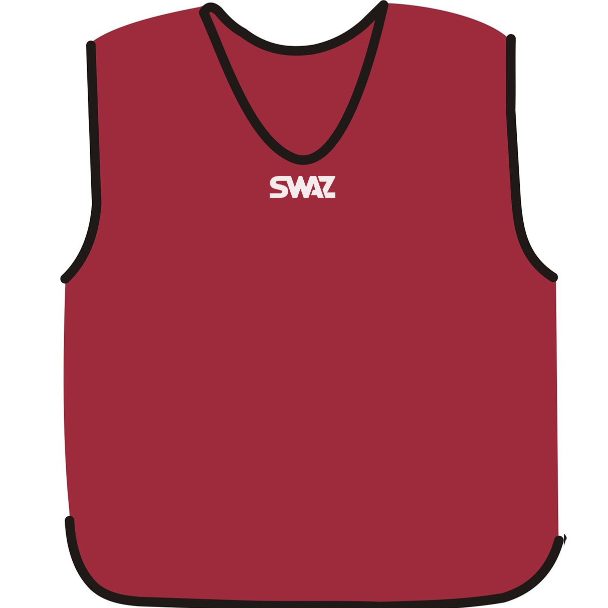 15 SWAZ Training Bibs – Cherry