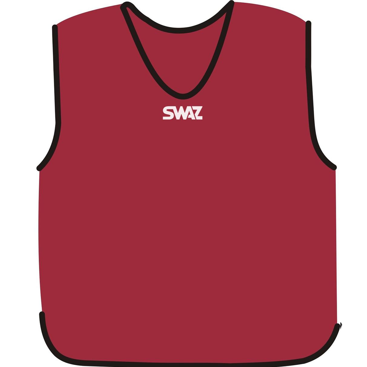 15 SWAZ Training Bibs – Cherry