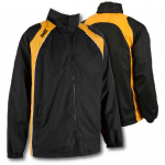 SWAZ Youth Showerproof Jacket – Black/Amber