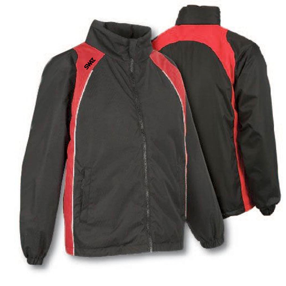 15 SWAZ Showerproof Jackets – Black/Red