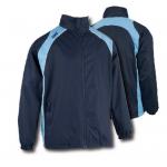 SWAZ Showerproof Jacket – Navy/Sky