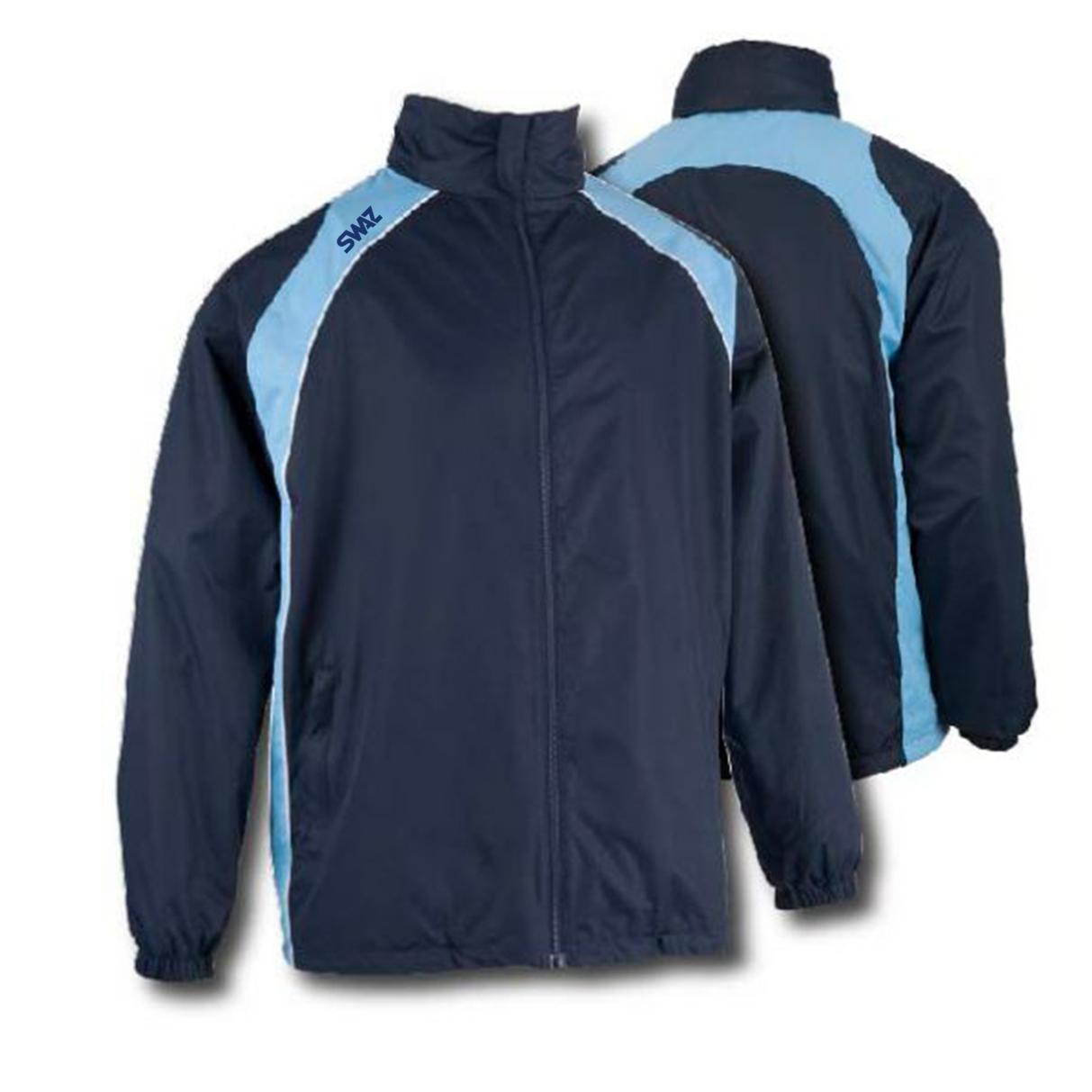 15 SWAZ Showerproof Jackets – Navy/Sky