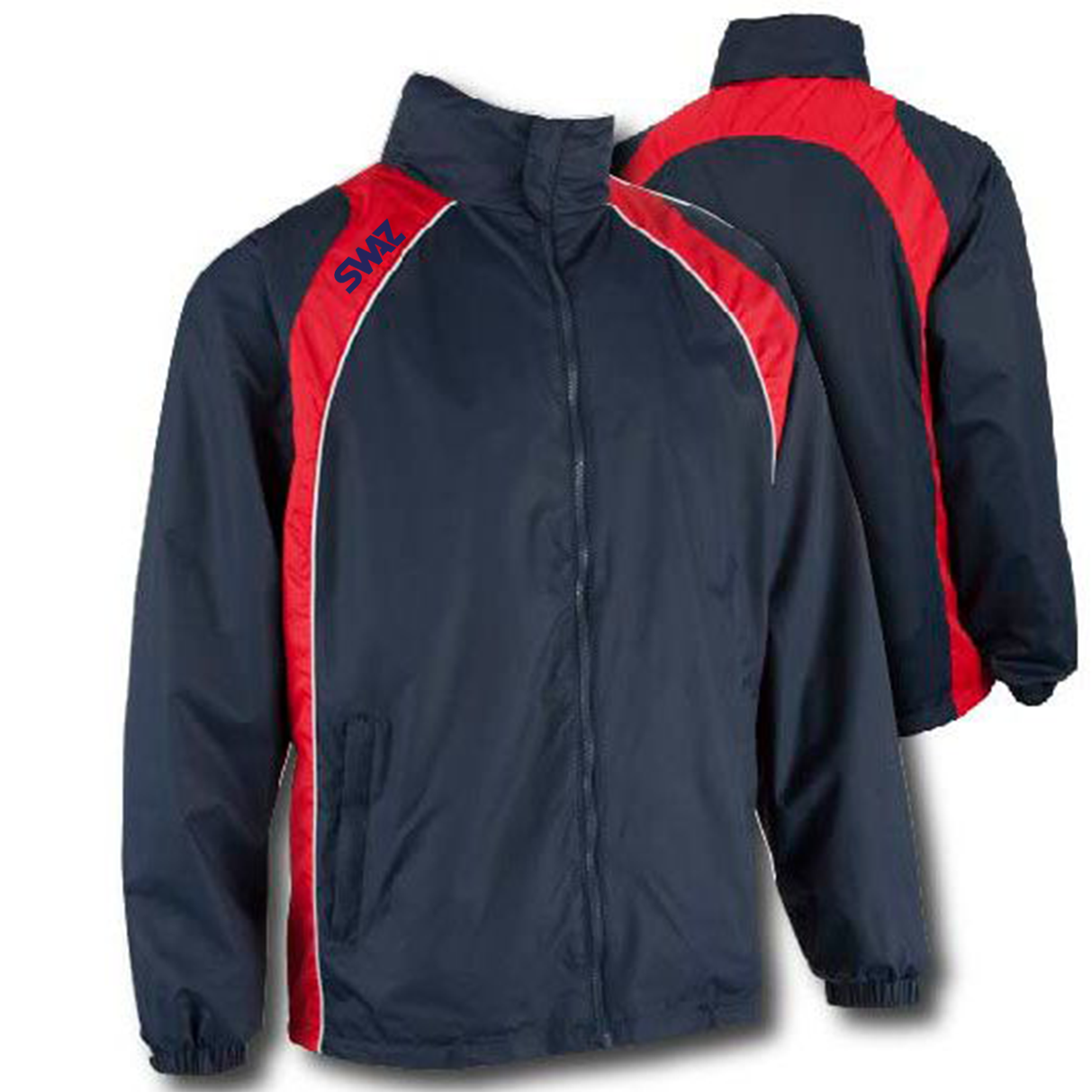 15 SWAZ Showerproof Jackets – Navy/Red