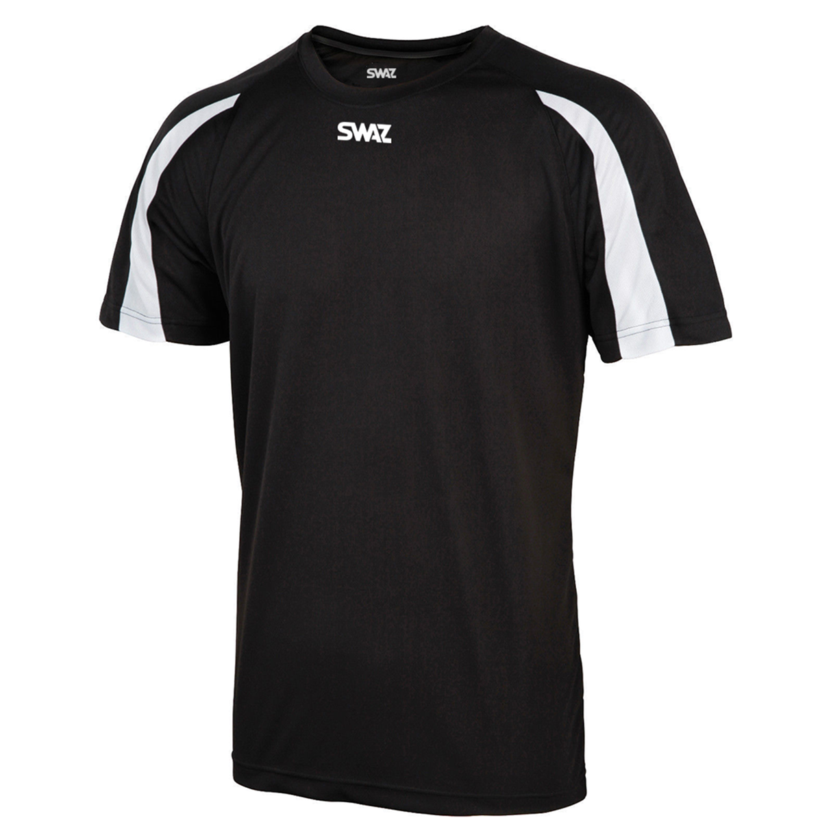 SWAZ Premier Training T-Shirt – Black/White