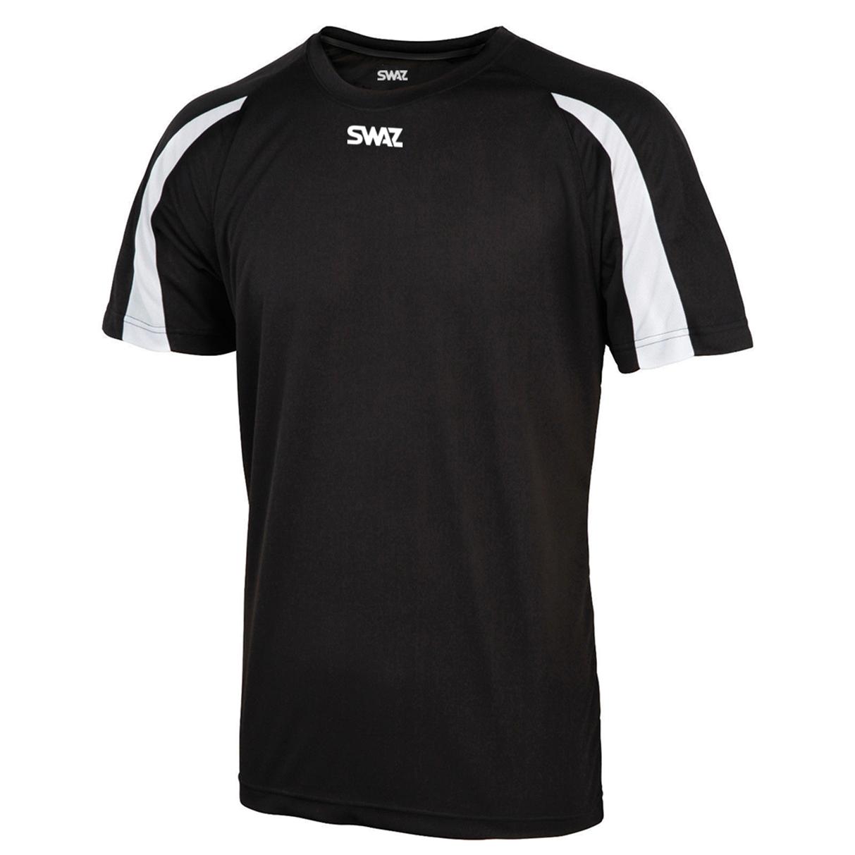 SWAZ Premier Training T-Shirt – Black/White