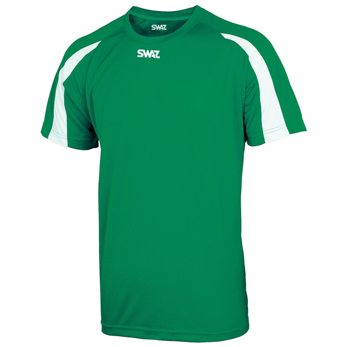 SWAZ Premier Training T-Shirt – Green/White