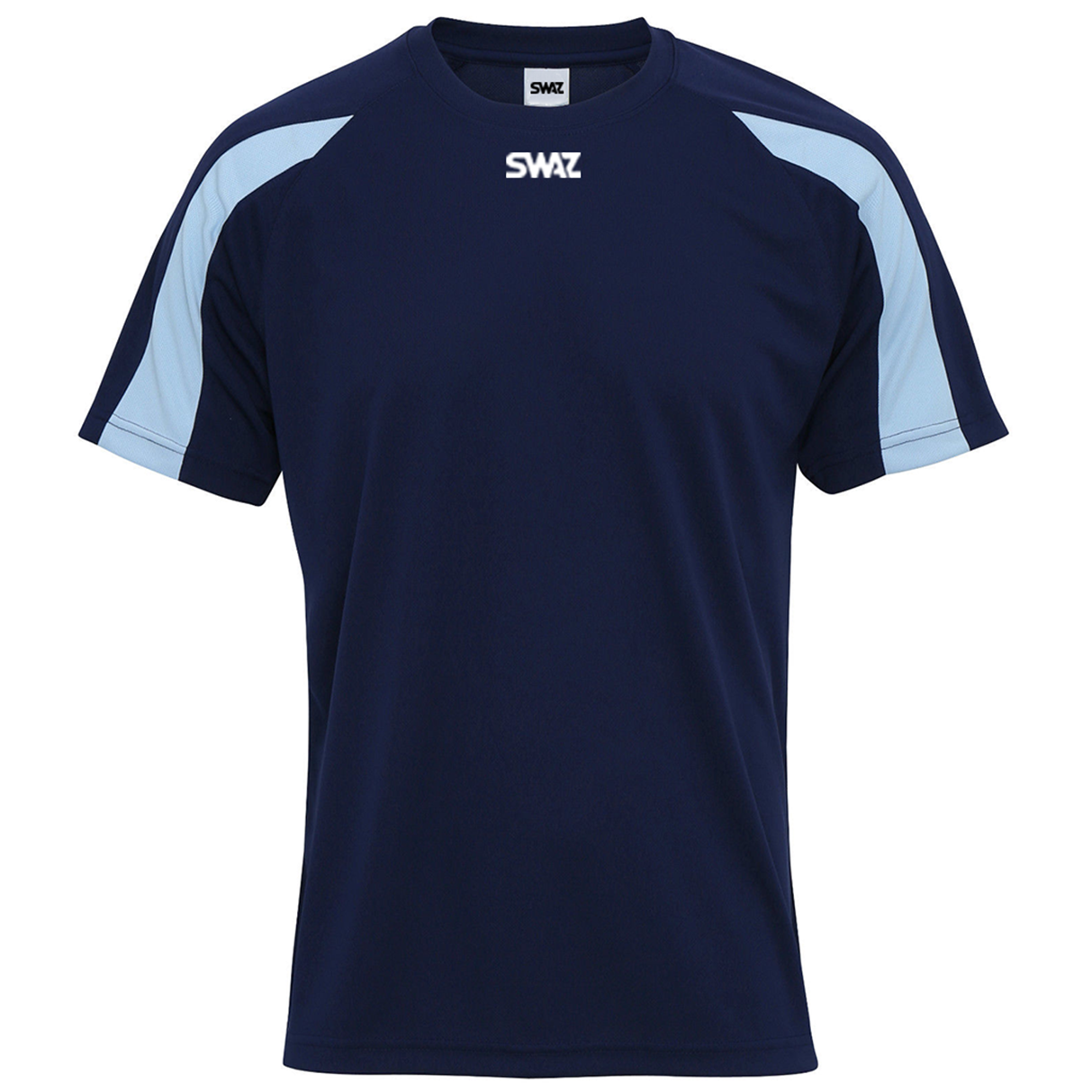SWAZ Premier Training T-Shirt – Navy/Sky