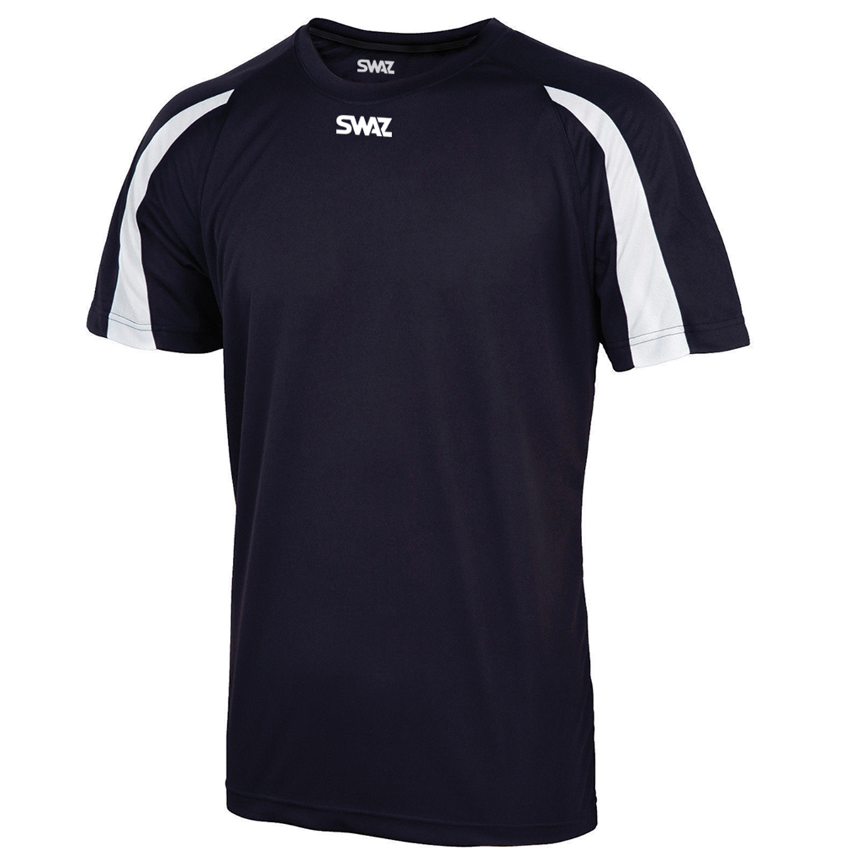 SWAZ Premier Training T-Shirt – Navy/White