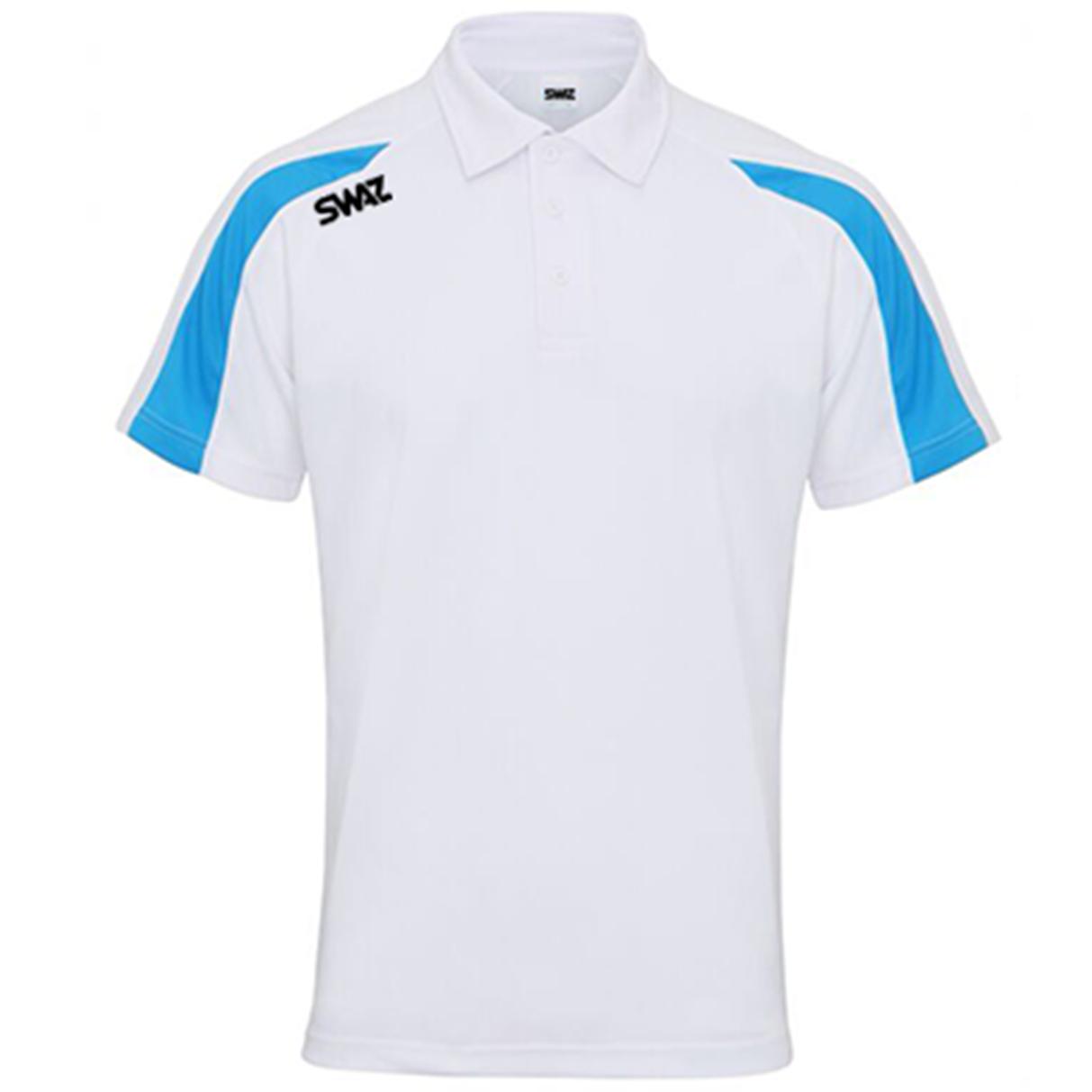 SWAZ Premier Polo – White/Blue