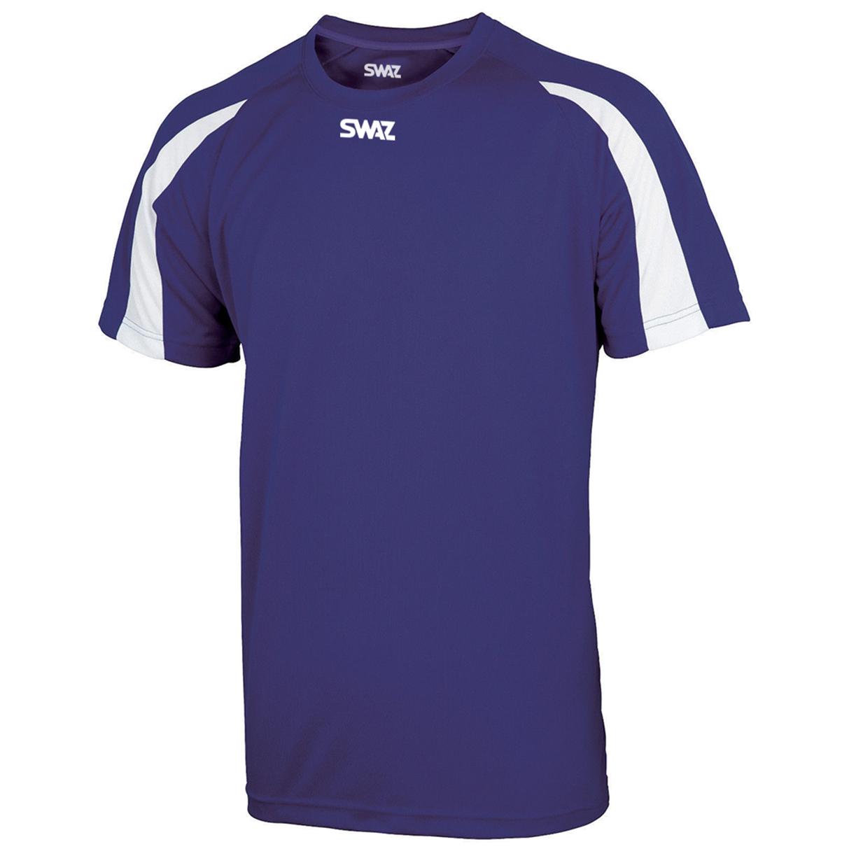 SWAZ Premier Training T-Shirt – Purple/White