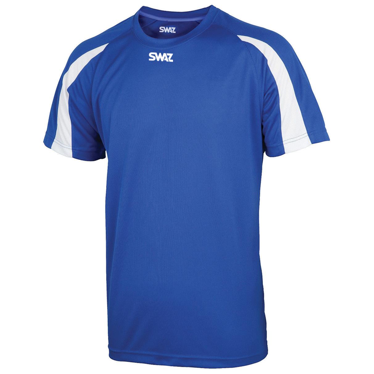 SWAZ Premier Training T-Shirt – Royal/White