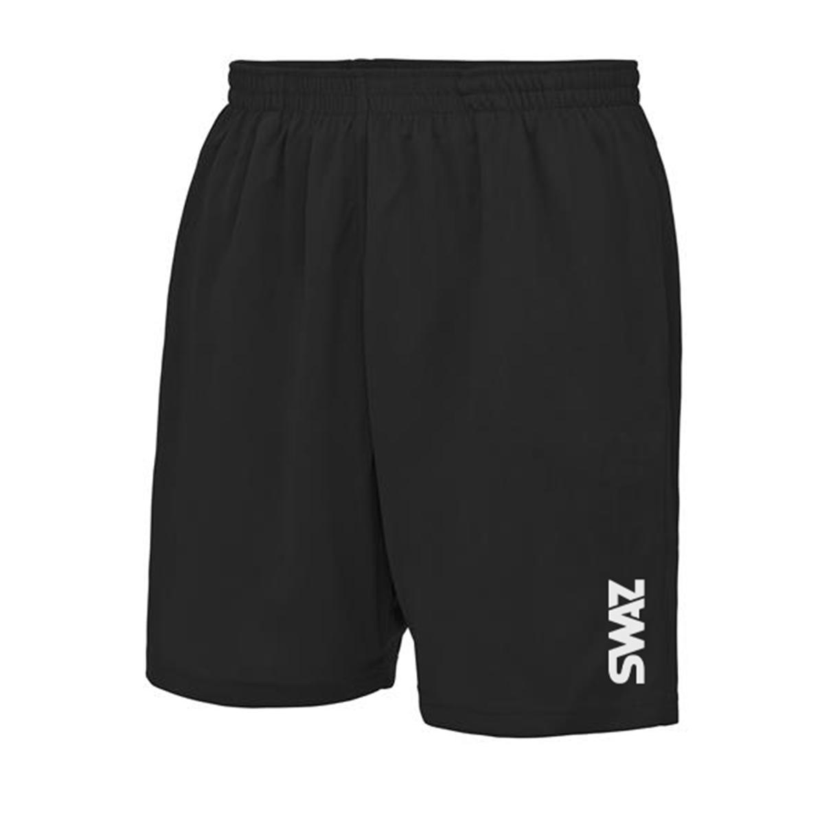 SWAZ Youth Training Shorts – Black