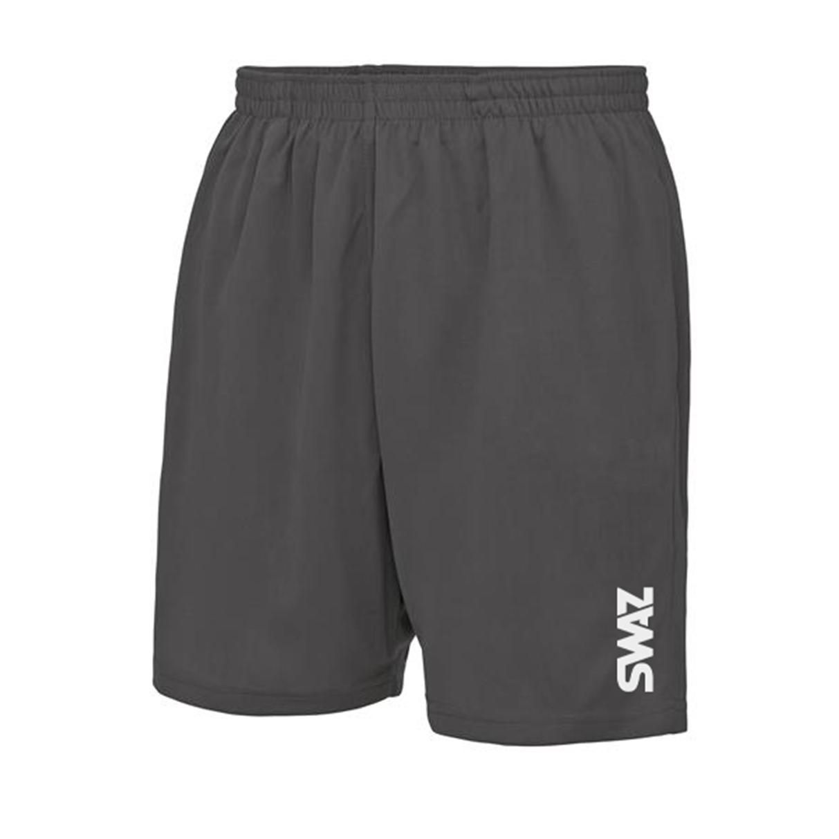 SWAZ Youth Training Shorts – Charcoal