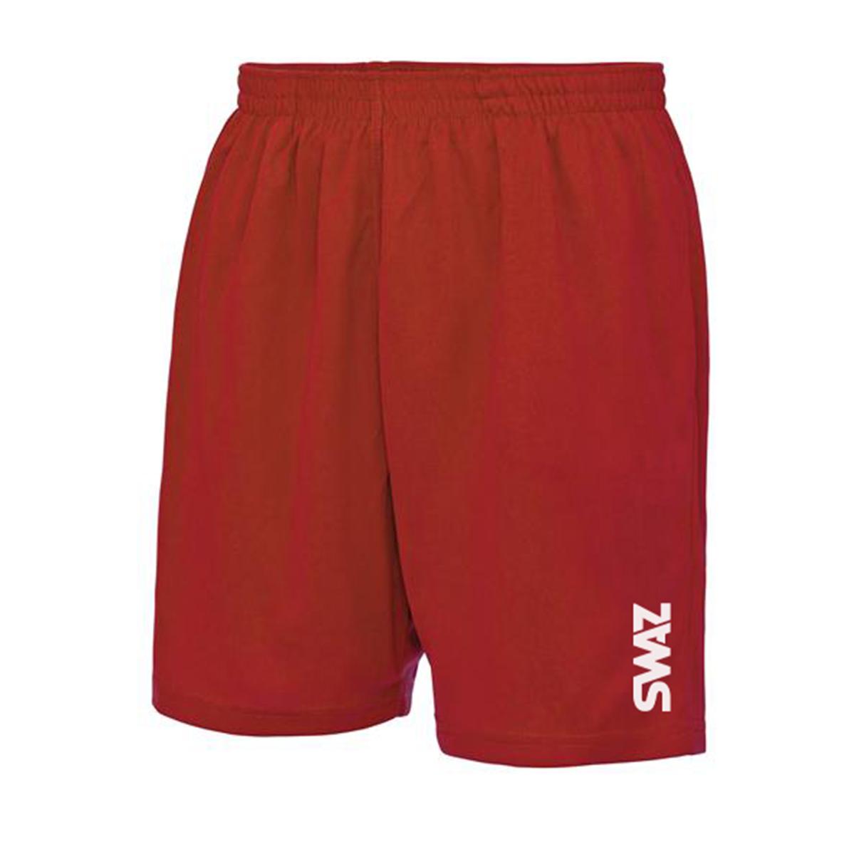 SWAZ Training Shorts – Red
