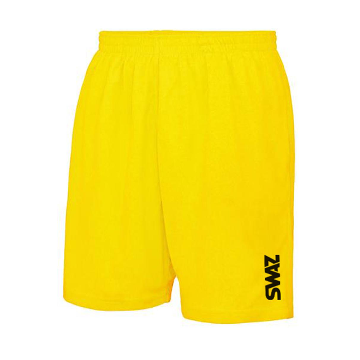 SWAZ Youth Training Shorts – Yellow