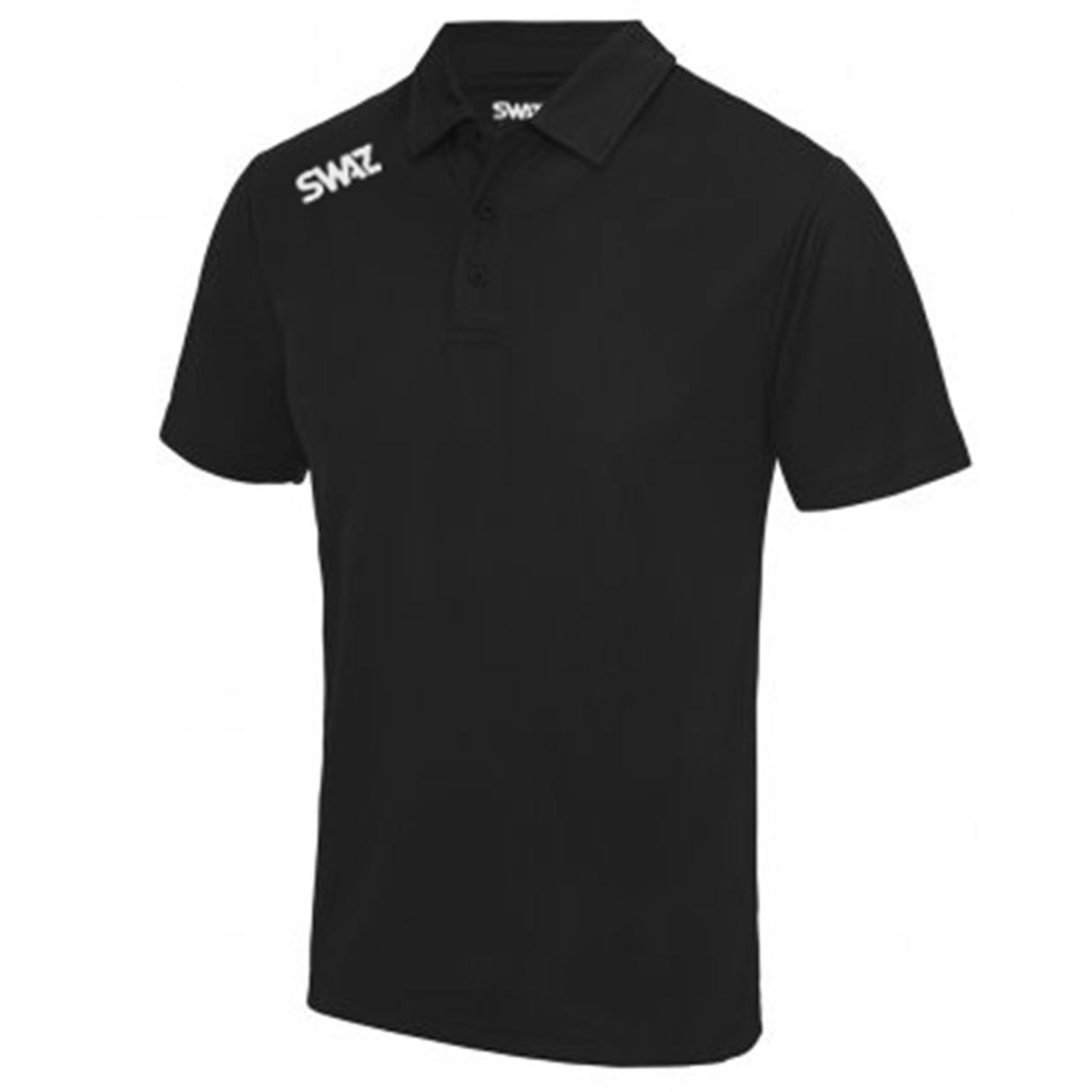 SWAZ Youth Club Polo – Black