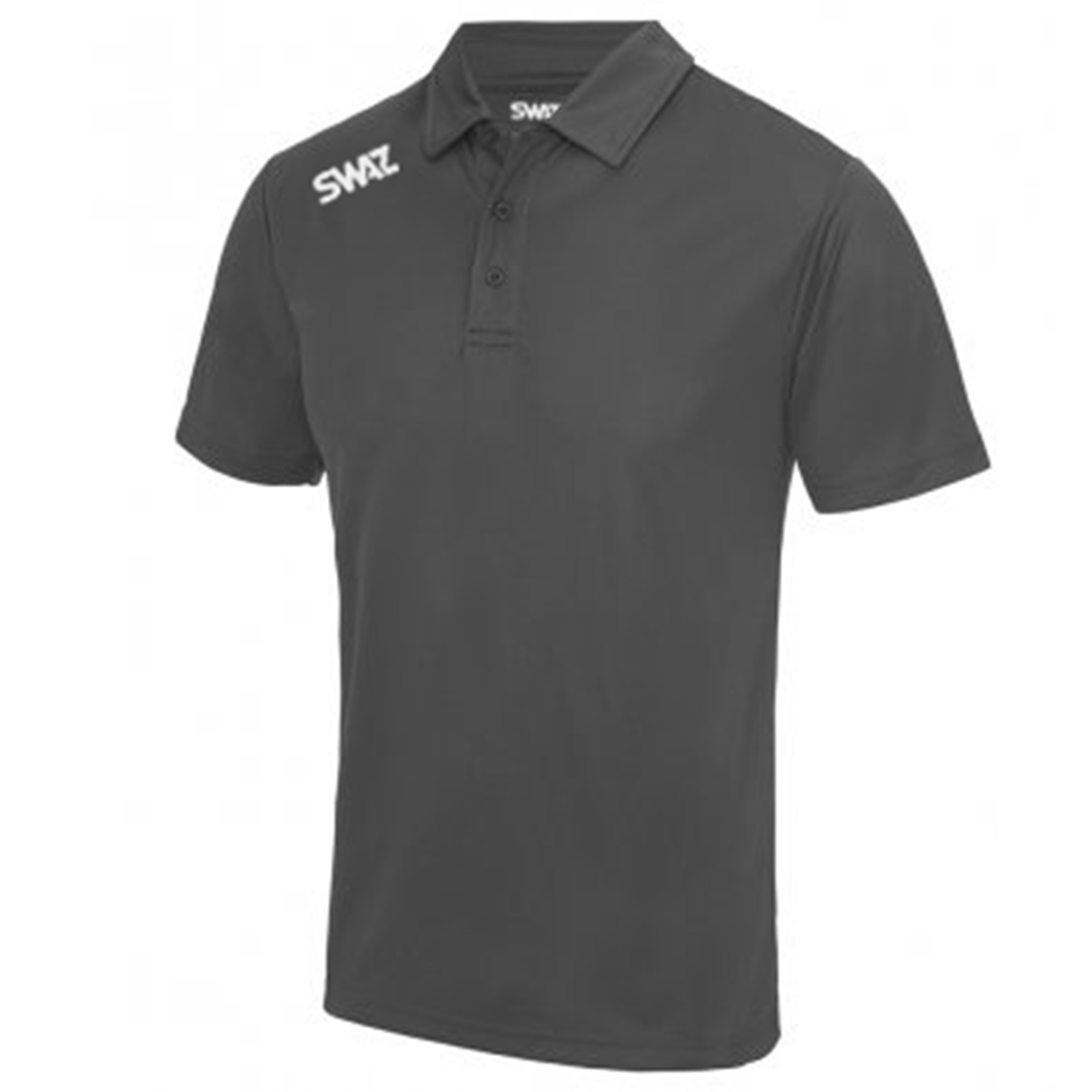 SWAZ Youth Club Polo – Charcoal