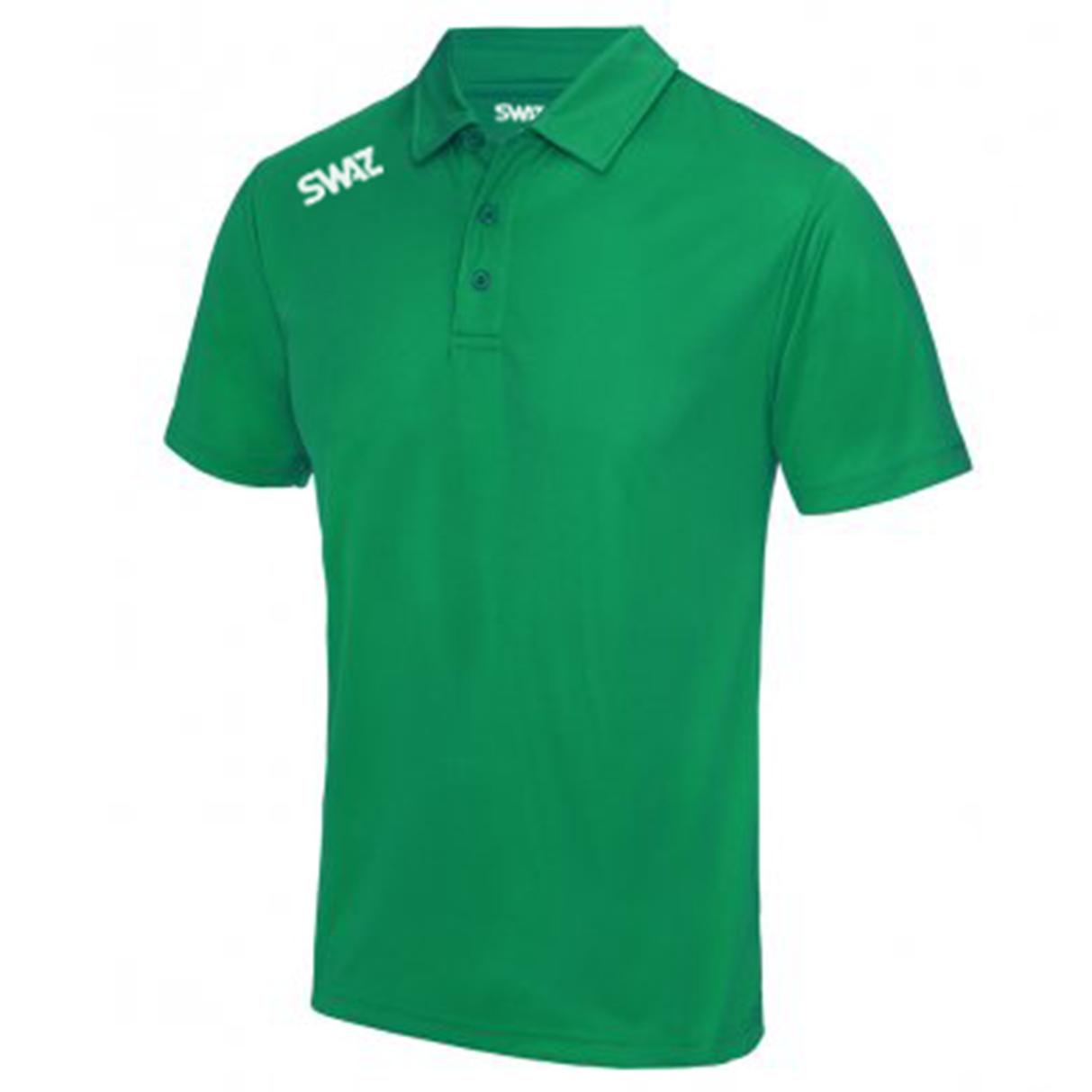 SWAZ Youth Club Polo – Green