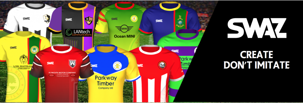 SWAZ Produce Bespoke Football Kits