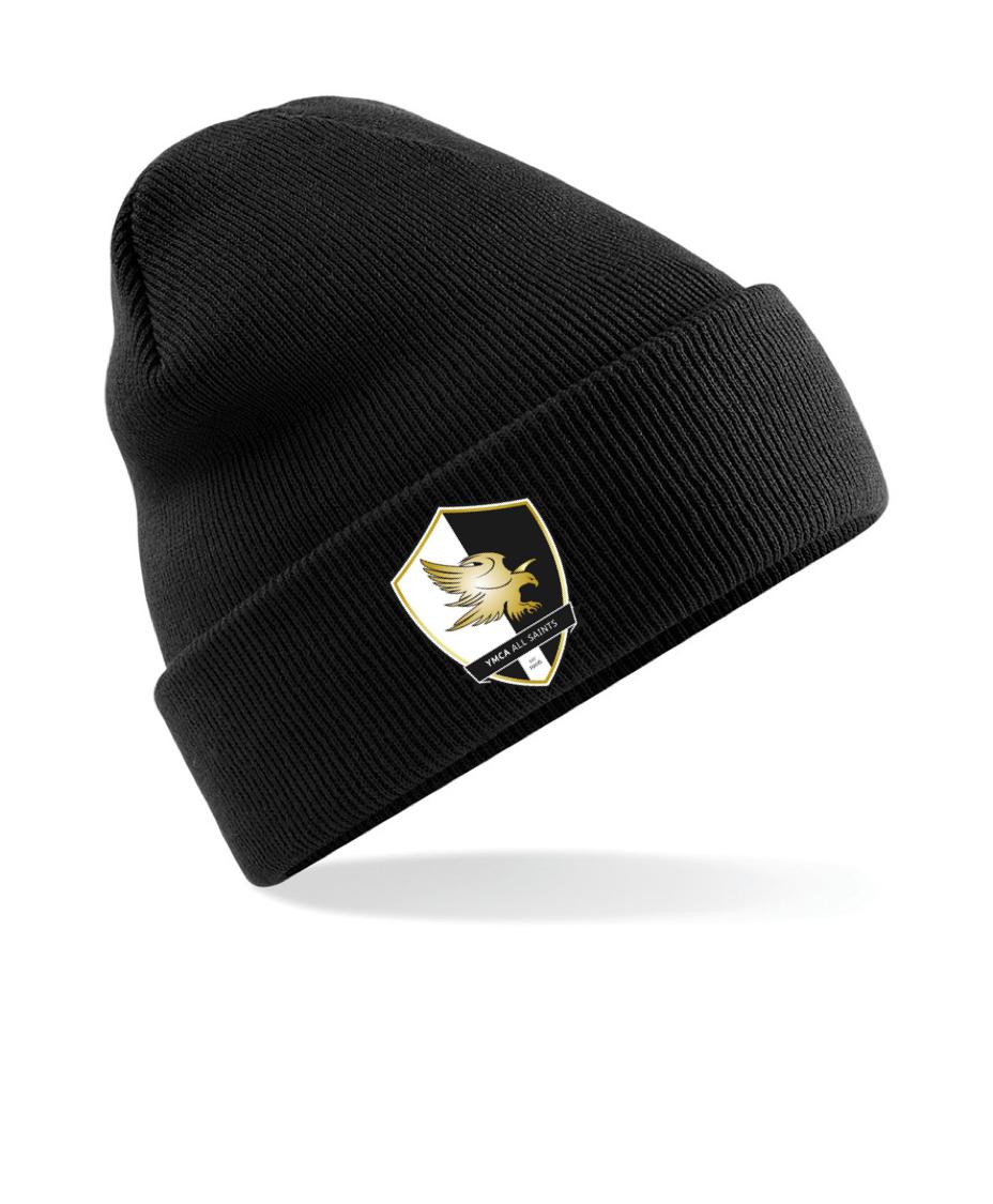 SWAZ YMCA All Saints Beanie Hat - Black b6c87f82e1b