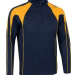 Navy_amber midlayer