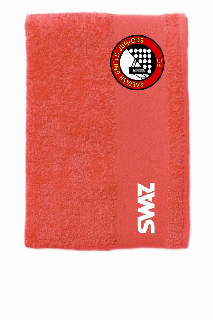 SWAZ Saltash United Juniors Bath Towel – Red