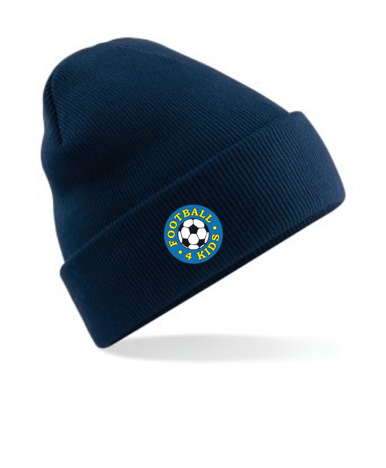 14194d25d SWAZ Football 4 Kids Beanie Hat - Navy