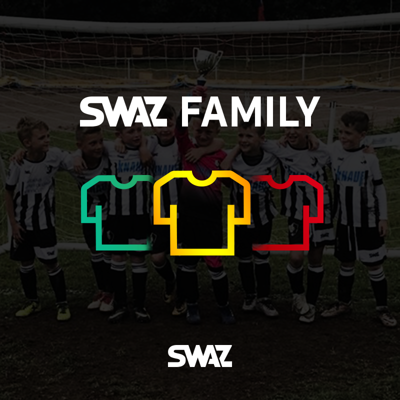 The football clubs that SWAZ is the football kit supplier for