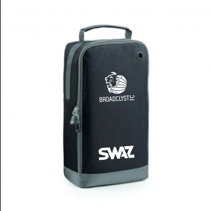 SWAZ Broadclyst FC Boot Bag – Black