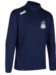 1/4 Zip Midlayer | Exmouth Town Football Club | SWAZ Teamwear