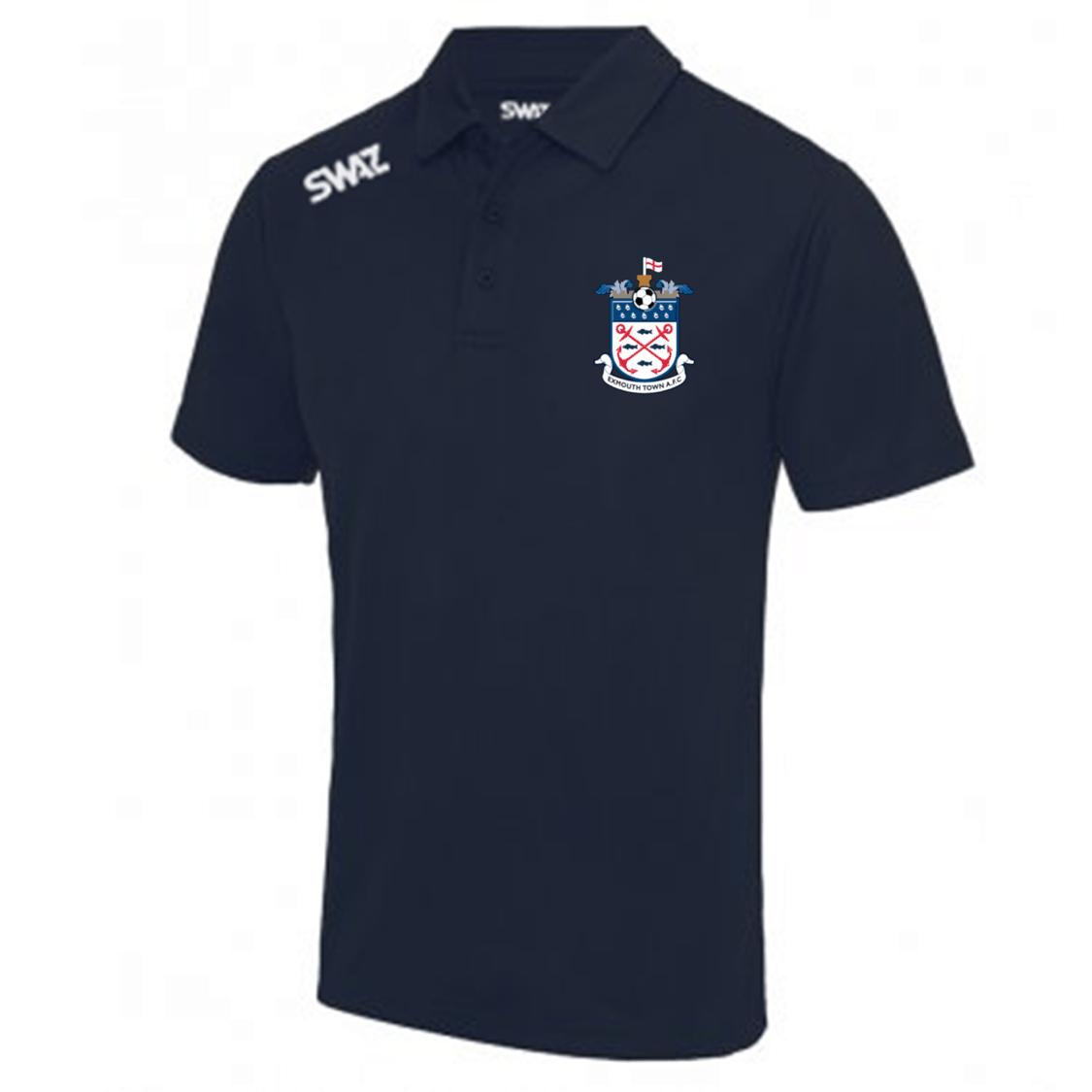 Exmouth Town Youth Polo   SWAZ Teamwear   Football Kit Supplier