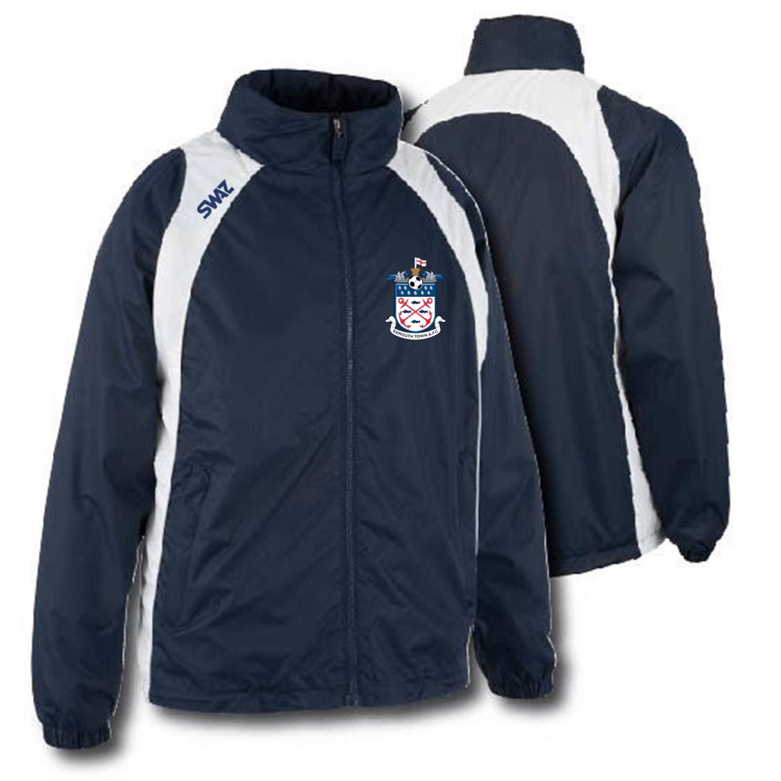 Exmouth Town Showerproof Jacket | SWAZ Teamwear | Comfort & Design