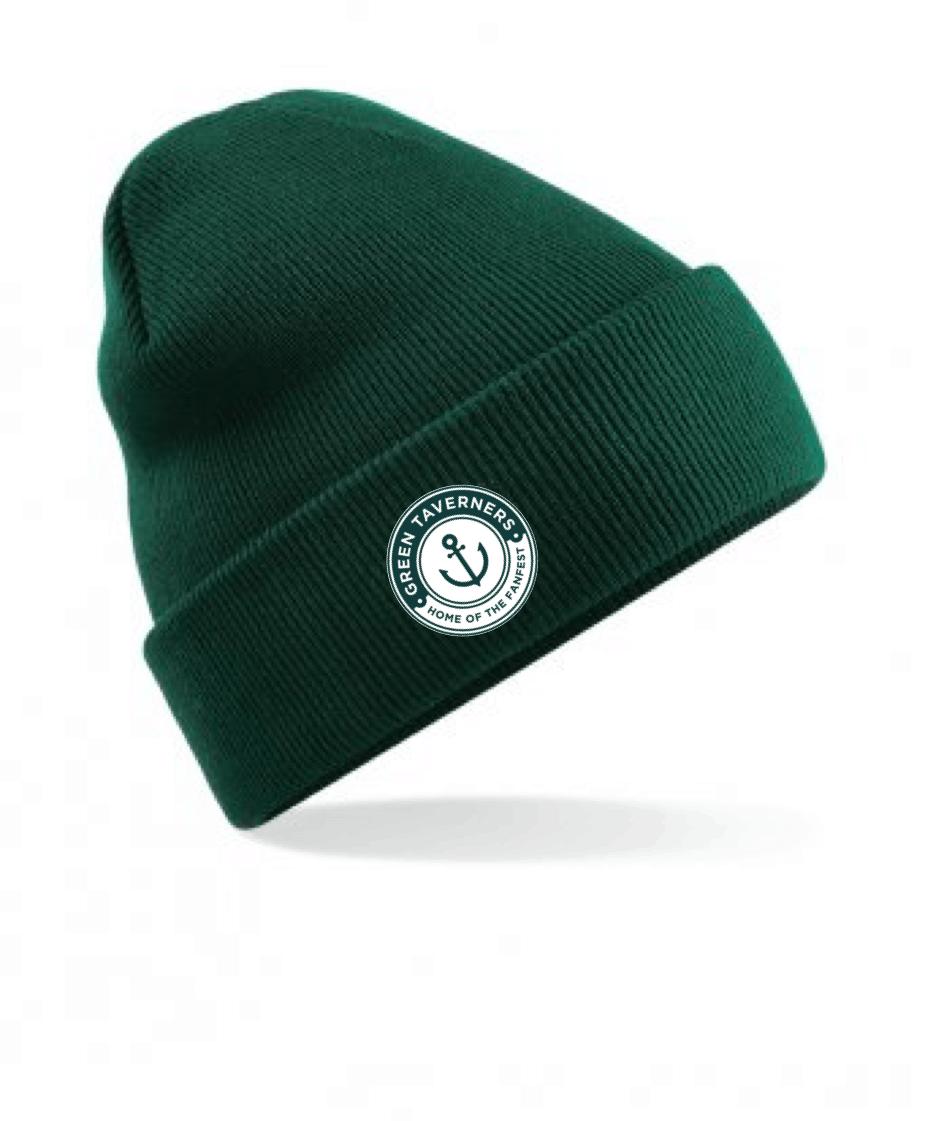 Green Taverners Beanie Hat | SWAZ Teamwear | Football Kit Supplier