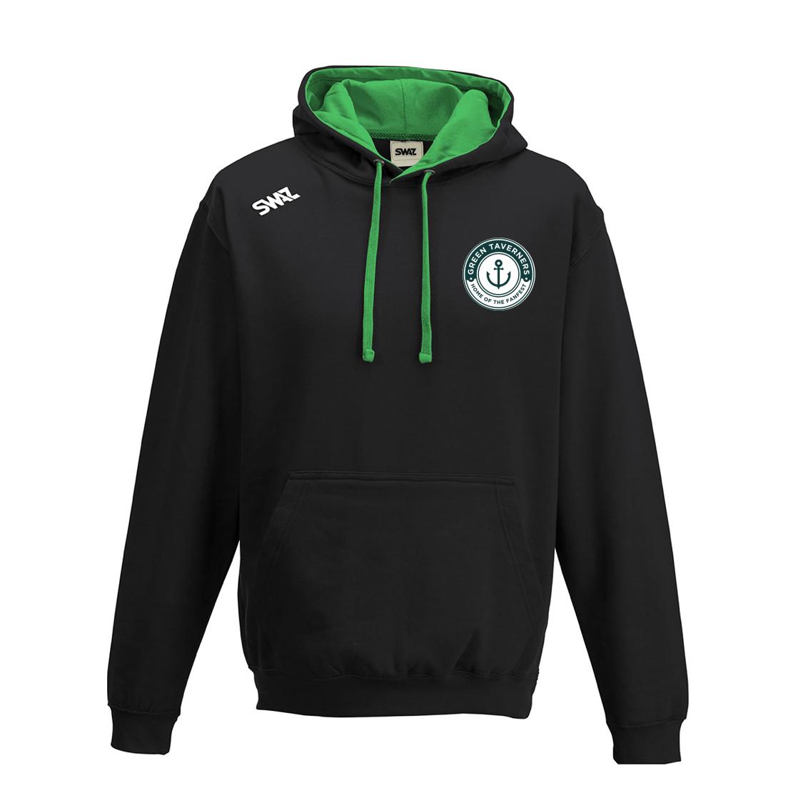 Green Taverners Hoody | SWAZ Teamwear | Football Kit Supplier