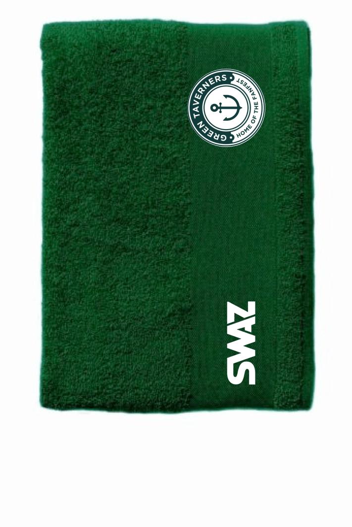 Green Taverners Towel | SWAZ Teamwear | Football Kit Supplier