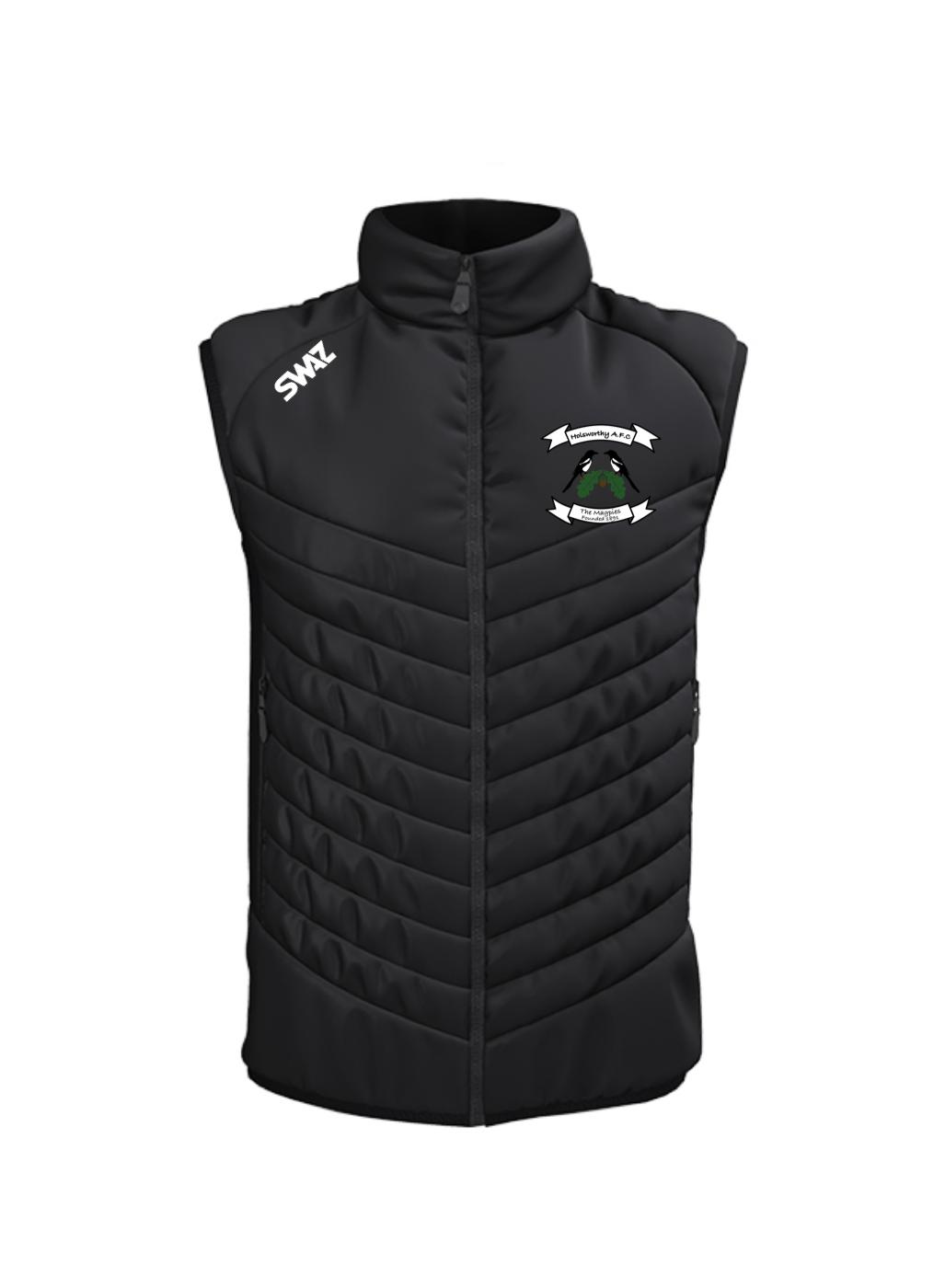 Holsworthy AFC Gilet | SWAZ Teamwear | Football Kit Supplier